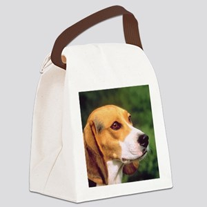 Cute Beagle Canvas Lunch Bag