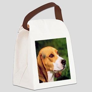 Cute Beagle Canvas Lunch Bag