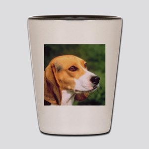 Cute Beagle Shot Glass