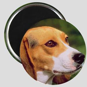Cute Beagle Magnet