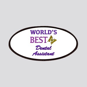 Worlds Best Dental Assistant (Butterfly) Patches