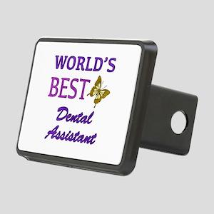 Worlds Best Dental Assistant (Butterfly) Rectangul