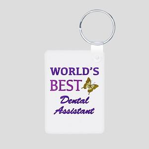 Worlds Best Dental Assistant (Butterfly) Aluminum