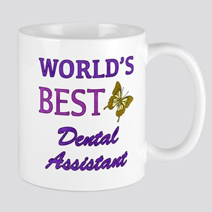 Worlds Best Dental Assistant (Butterfly) Mug