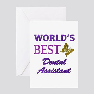 Worlds Best Dental Assistant (Butterfly) Greeting