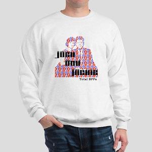 light jack and jackie Sweatshirt