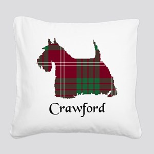Terrier - Crawford Square Canvas Pillow