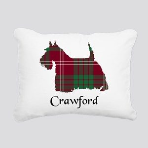 Terrier - Crawford Rectangular Canvas Pillow