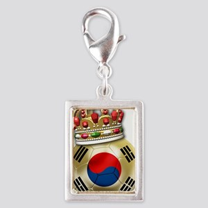 Korea Republic World Cup 6 Silver Portrait Charm