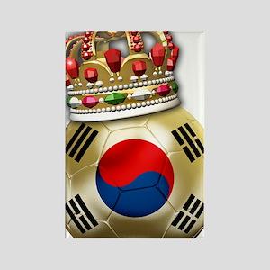 Korea Republic World Cup 6 Rectangle Magnet