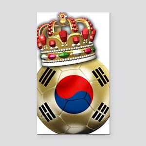 Korea Republic World Cup 6 Rectangle Car Magnet