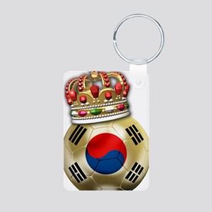 Korea Republic World Cup 6 Aluminum Photo Keychain