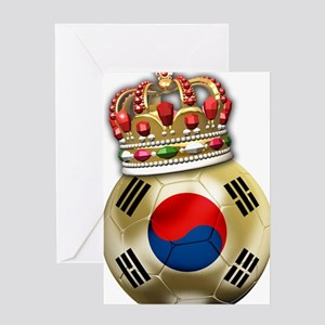 Korea Republic World Cup 6 Greeting Card