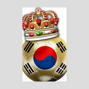 Korea Republic World Cup 6 Sticker (Rectangle)