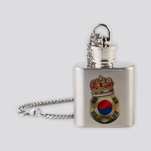 Korea Republic World Cup 6 Flask Necklace