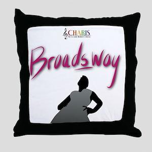 CHARIS Broadsway Throw Pillow