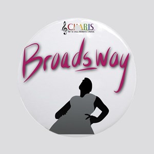 CHARIS Broadsway Round Ornament
