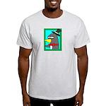 Staring Longfellow T-Shirt (Gray)