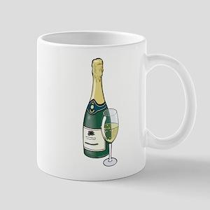 Champagne Bottle Mug