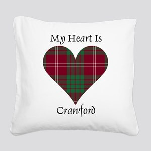Heart - Crawford Square Canvas Pillow