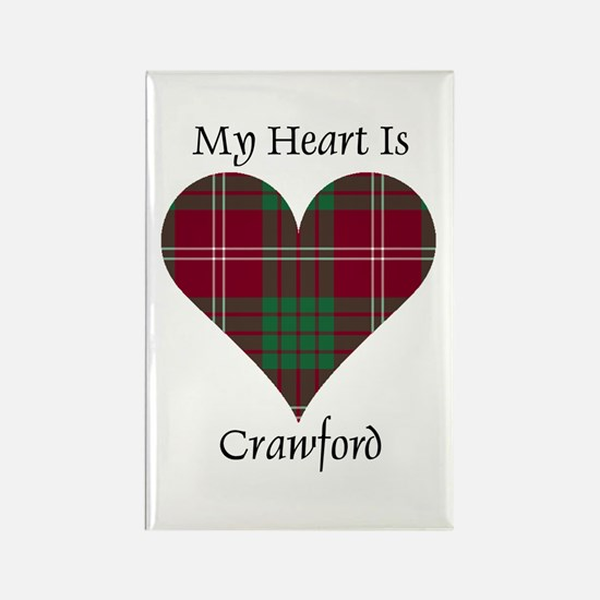 Heart - Crawford Rectangle Magnet