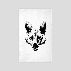 Fox ace 3 3'x5' Area Rug