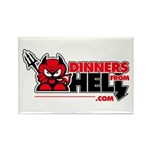 Dinners From Hell Rectangle Magnet