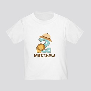 Personalized 2nd Birthday Safari Jungle T Shirt
