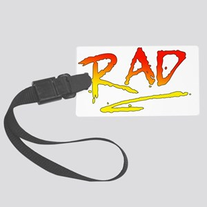 Rad_gradient2 Large Luggage Tag
