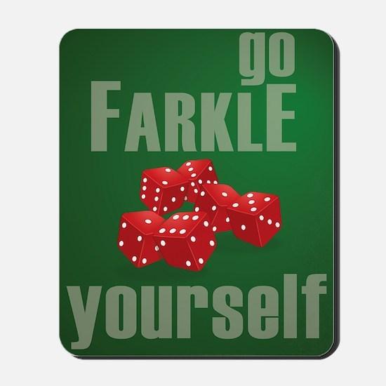 Farkle Yourself 8x10 Mousepad
