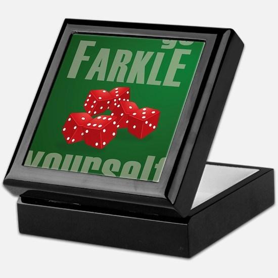 Farkle Yourself 8x10 Keepsake Box