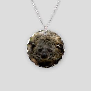 002Bearcat Necklace Circle Charm