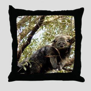 001Bearcat Throw Pillow