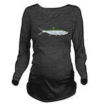 Tarpon c Long Sleeve Maternity T-Shirt