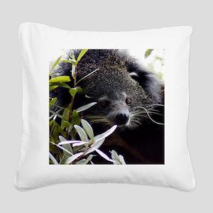 005Bearcat Square Canvas Pillow