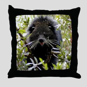 004Bearcat Throw Pillow