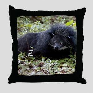 008Bearcat-edt Throw Pillow