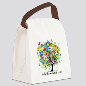 Tree 2 Canvas Lunch Bag