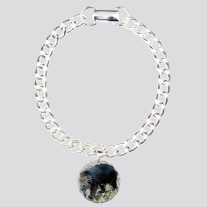 003Bearcat Charm Bracelet, One Charm