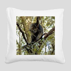 007Bearcat Square Canvas Pillow