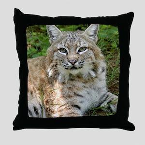 BobcatBCR009 Throw Pillow