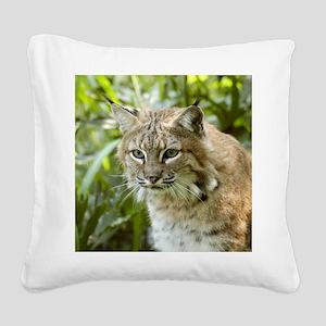 BobcatBCR010 Square Canvas Pillow