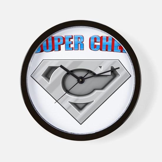 3-Super_chef Wall Clock