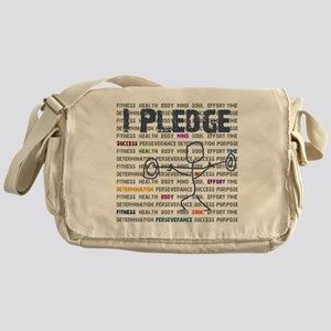 I Pledge Final GISGYM  Messenger Bag