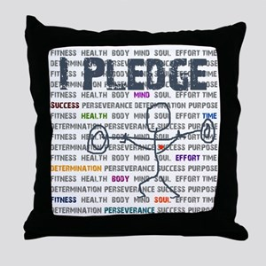 I Pledge Final GISGYM  Throw Pillow