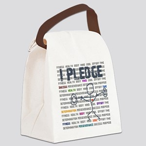 I Pledge Final GISGYM  Canvas Lunch Bag
