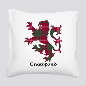 Lion - Crawford Square Canvas Pillow