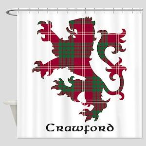 Lion - Crawford Shower Curtain