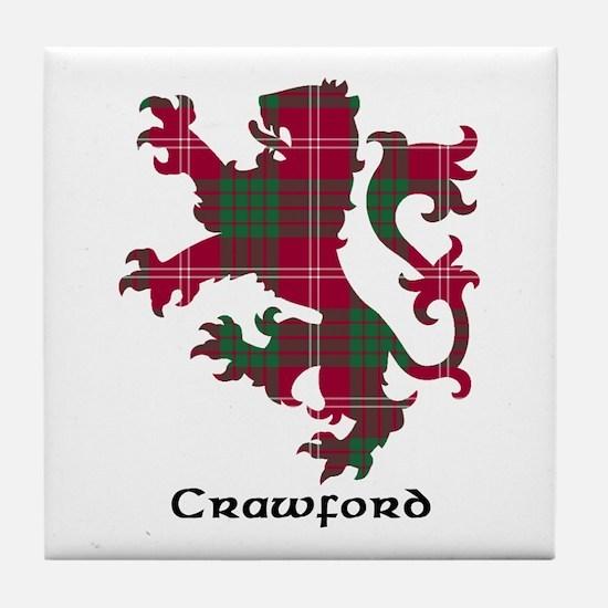 Lion - Crawford Tile Coaster
