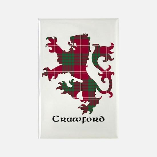 Lion - Crawford Rectangle Magnet